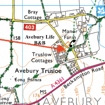 Find Us Map Directions Aveburylife Bed Breakfast - Find-us-map